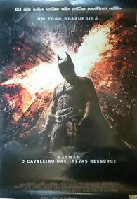 Pôster Batman - O Cavaleiro Das Trevas Ressurge (dupla Face)