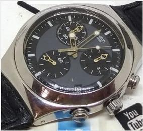 Relógio Swatch Masculino Irony Black Webclock T06272