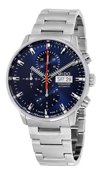 Relogio Mido M0164141104100 Commander Ii Automatico Cronogra
