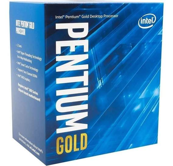 Intel Pentium Gold G5400 8ª Geração 1151