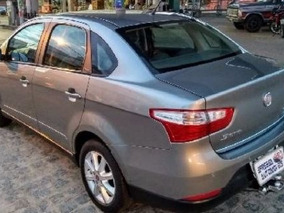 Fiat Grand Siena 1.4 Attractive Flex 4p - Cinza