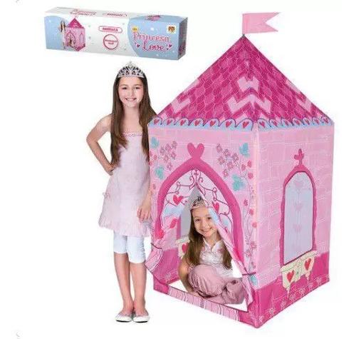 Imagem 1 de 2 de Barraca Princesa  75cmx75cm 1.60 De Altura