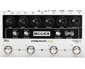 Mooer - Multi Pré Amplificador - Pré Amplive M999