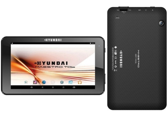 Tablet Maestro 1.5 Ghz A33 8 Gb Quad Core Hdt-74433l - Hyund