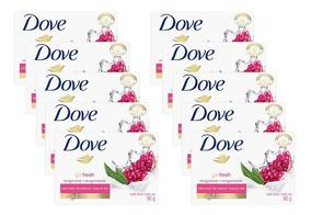 Kit Com 10 Sabonetes Dove Revigorante 90g