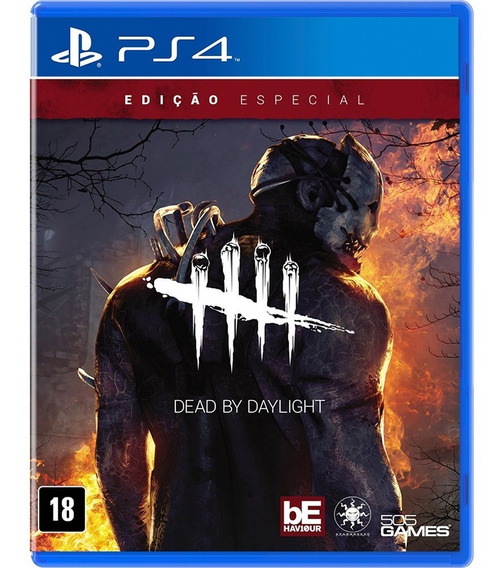Ps4 - Dead By Daylight - Novo Lacrado C/ Nota Fiscal