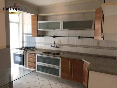 Imagem 1 de 6 de Apartamento À Venda, 72 M² Por R$ 425.000,00 - Nova Gerti - São Caetano Do Sul/sp - Ap1894