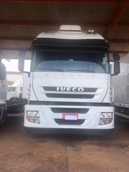 Iveco Stralis 360 2013 4x2 Toco Completo Leito Teto Alto
