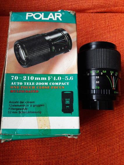 Lente Objetiva 70-210 Mm F4.40-5.6 Polar Leia Descrição