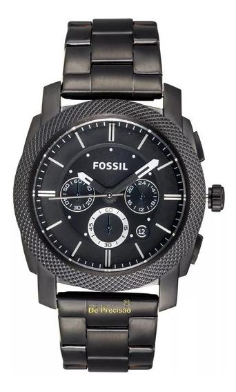 Relógio Fossil Blackout Cronógrafo Ffs4552/z