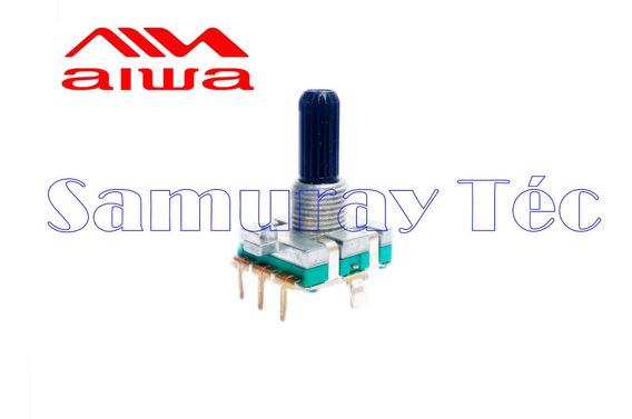 Potenciômetro Rotativo Sem Fim Aiwa 3 Terminais (original)