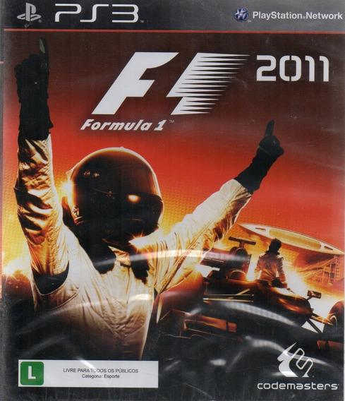 F 1 2011 Ps3 Midia Fisica (novo Lacrado)