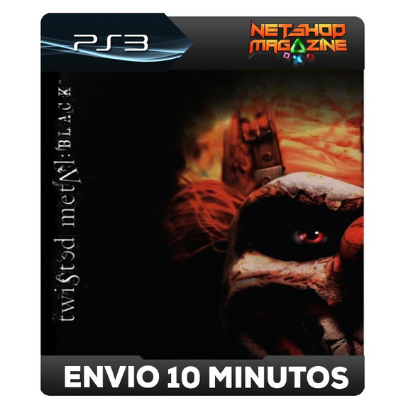 Twisted Metal: Black - Classico Do Ps2 - Psn Ps3 - Promoção