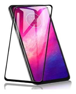 Película De Vidro 3d Motorola Moto One Hyper 6.5 Preta