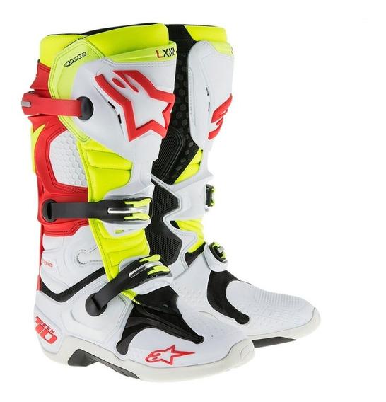 Botas Motocross Atv Alpinestars Tech 10 Articulada Cn Botita