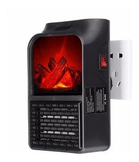 Calefactor Electrico Portátil Flama 900 Watts+adaptador