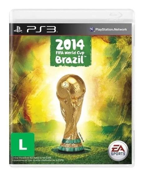 Jogo Copa Do Mundo Da Fifa Brasil 2014 Ps3 Lacrado