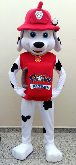 Alquilo Disfraz Cabezon Marshall Patrulla Canina Paw Patrol