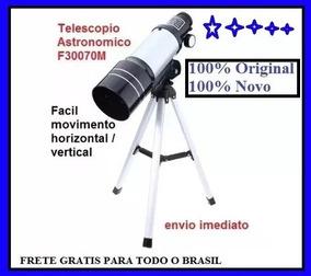 Telescopio Astronomico F30070mm 100% Original 100% Novo Lacr