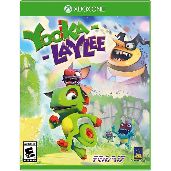 Yooka-laylee Xbox One Mídia Física Lacrado