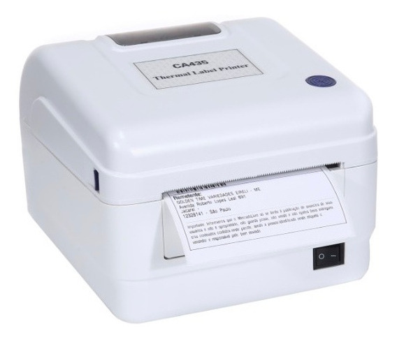 Rp Printer Termica Imprime Etiquetas 110mm Linguagem Zpl Txt