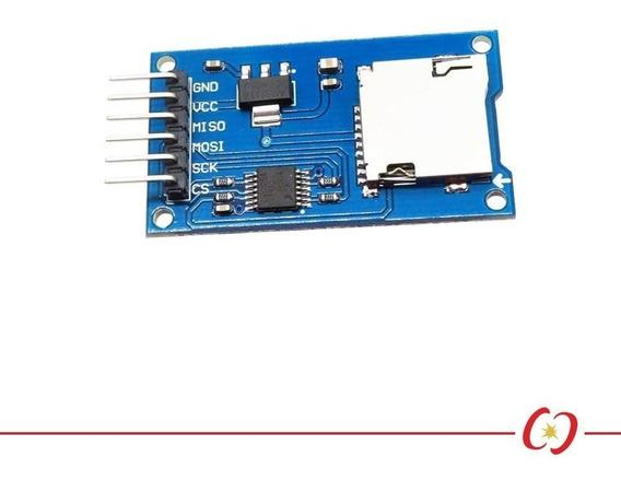 Módulo Cartão Micro Sd Leitor De Sd Card