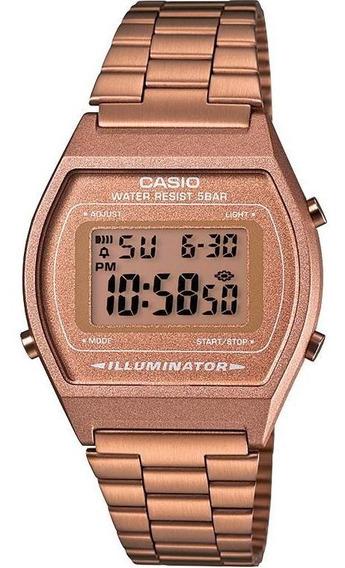 Reloj Casio Vintage B640wc-5a Oro Rosa