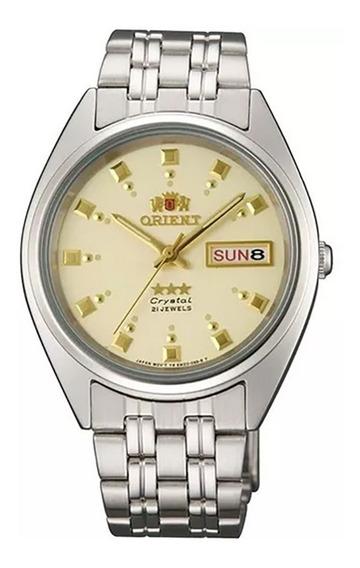 Reloj Orient Automatico 21 Jewels Fab00009c9