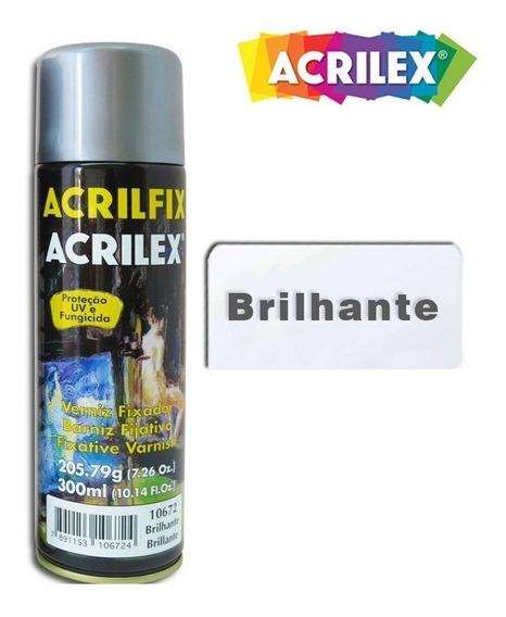 Verniz Spray Brilhante Acrilfix 300ml 10672 - Acrilex