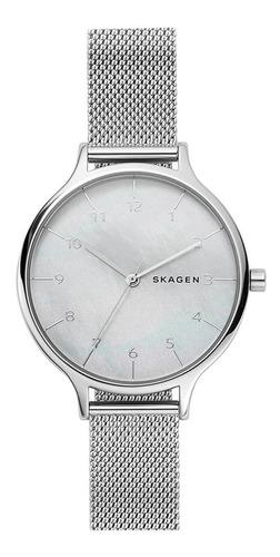 Relógio Feminino Skagen Anita Slim Prateado Skw2701kn