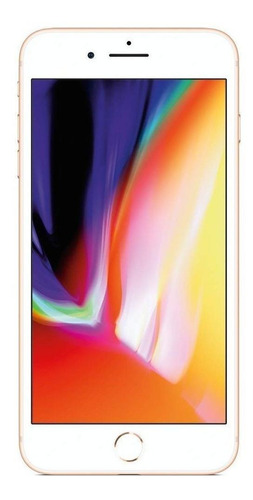 Celular Smartphone Apple iPhone 8 Plus 128gb Dourado - 1 Chip