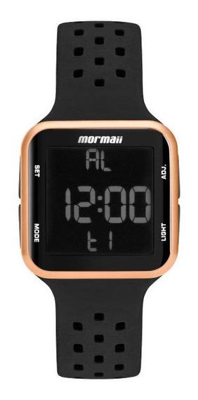 Relógio Mormaii, Digital, Unissex Mo66008j, Preto/rosê