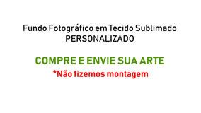 Fundo Fotográfico Tecido Sublimado Personalizado 8,0m X 3,0m