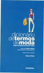 Dicionário De Termos De Moda - Inglês-po Diana Aflalo