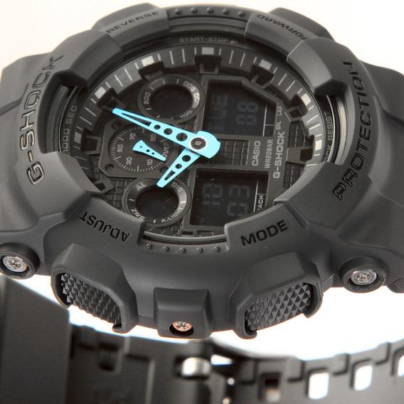 Relógio Casio G-shock Ga100c8a Original Dos Estados Unidos