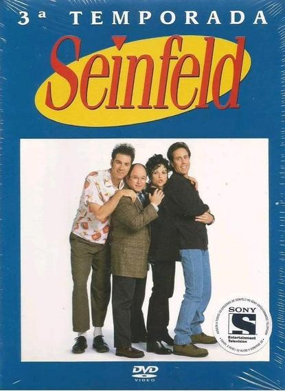 Seinfeld 3ª Temporada - Box Com 4 Dvds - Jerry Seinfeld