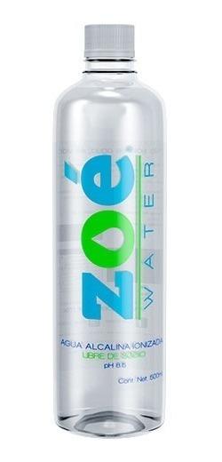 Agua Alcalina Zoé Water, 500ml