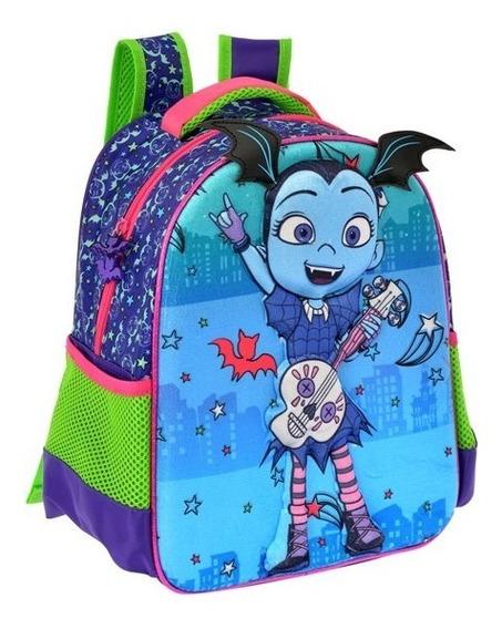 Mochila 3d Kinder Preescolar Vampirina Niña 9091