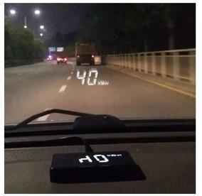 Velocimetro Digital Hud Projetor Carro Parabrisa Com Alarme!