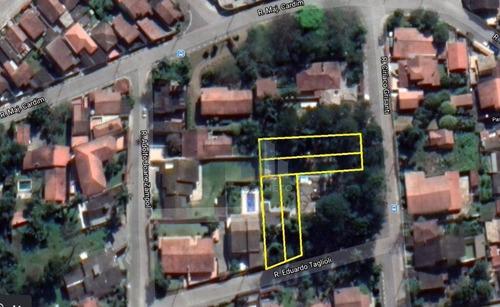 Imagem 1 de 9 de Terreno À Venda, 1436 M² Por R$ 1.840.000,00 - Suíssa - Ribeirão Pires/sp - Te0118