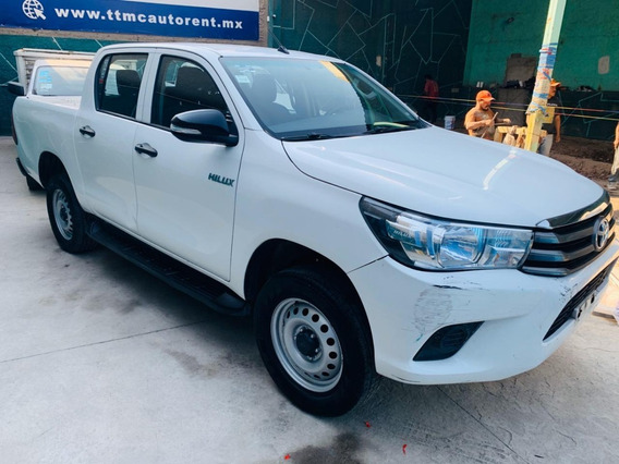 Toyota Hilux Pick Up 2016 Doble Cabina Linea Nueva