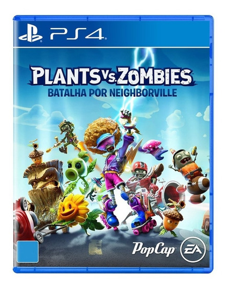 Plants Vs Zombies Battle For Neighborville Ps4 Midia Fisica