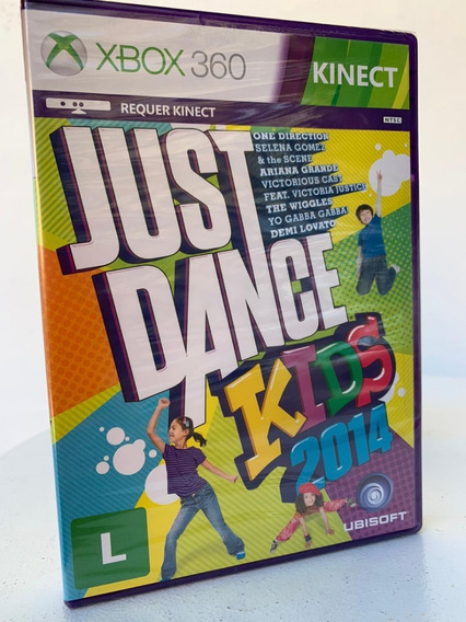 Jogo Just Dance Kids 2014 Xbox 360 Novo-lacrado