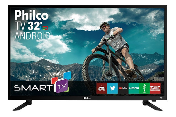 Smart Tv Philco Android Led 32 Ptv32n87sa Bivolt