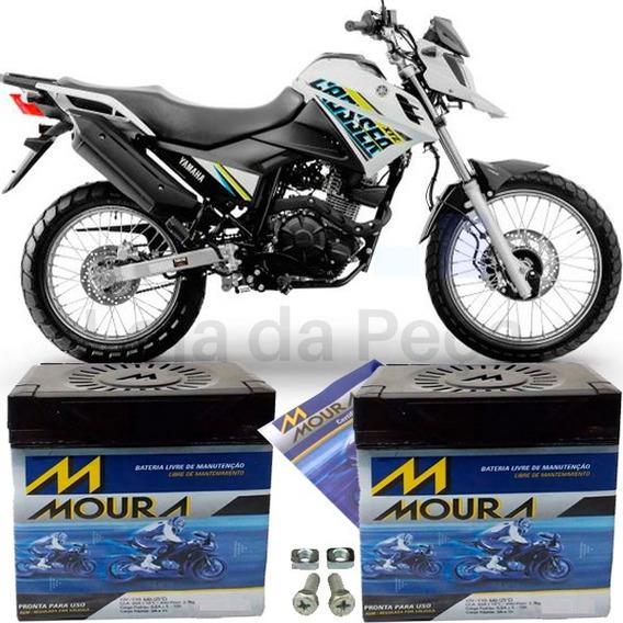 Bateria Pra Moto 150 Motocicleta Xtz 150 Crosser 150 Moura