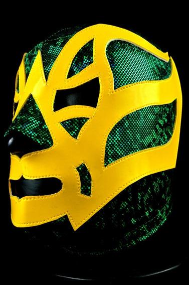 Fishman 2 Mascara Lycra Semiprofesional Lucha Libre