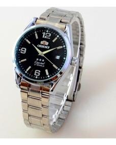 Relógio Pulseira De Aço Automático Orient 3 Star