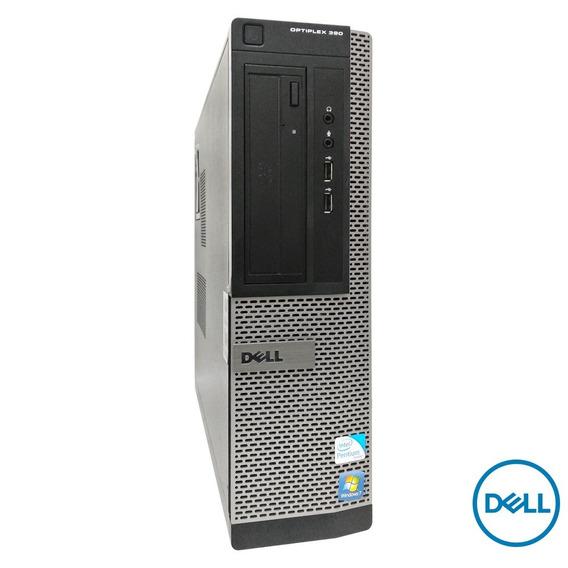 Cpu Dell Desktop Optiplex 390 Core I3 4gb Ddr3 Frete Gratis
