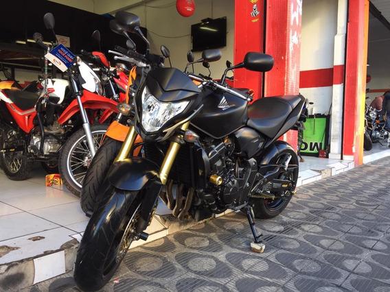 Honda Cb 600 Hornet Preta Fosco Ano 2012 Shadai Motos
