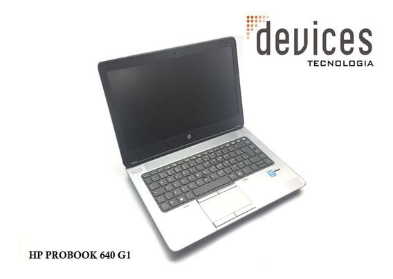 Notebook Hp Probook 640 G1 I7-4600m Com 8gb Hd 500gb